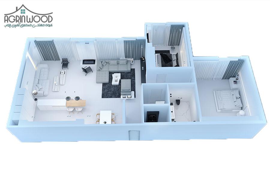داخلی مینیمال 1 - طراحی داخلی