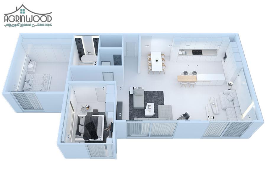 داخلی مینیمال 2 - طراحی داخلی